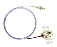 butterfly package with single mode fiber