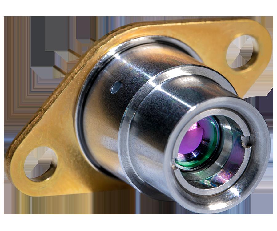 Lens on cap